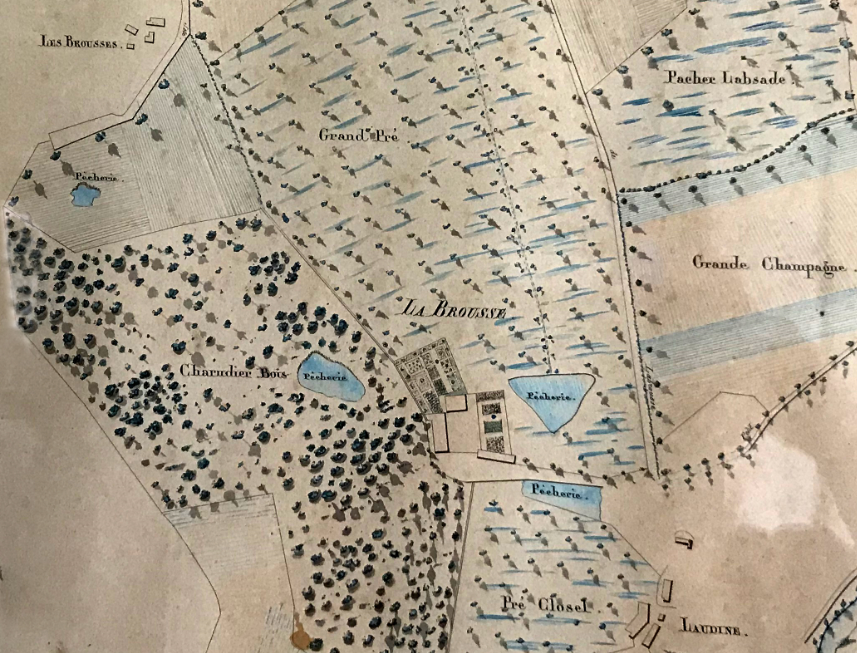 La Brousse - Plan XIXe siècle