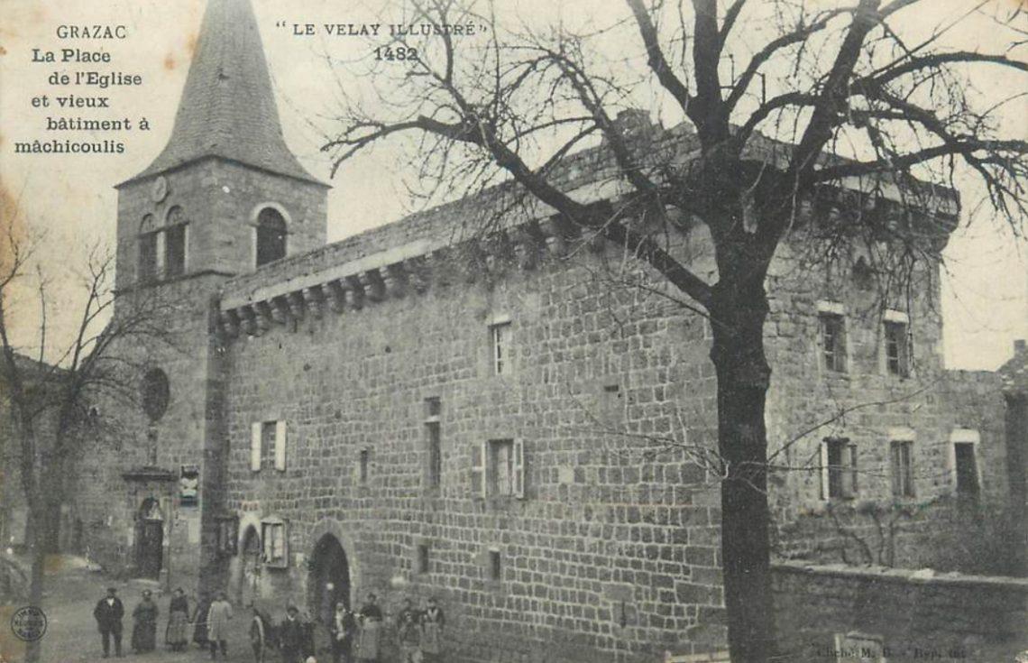 L'église de Grazac